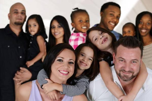 Visuel d'une famille