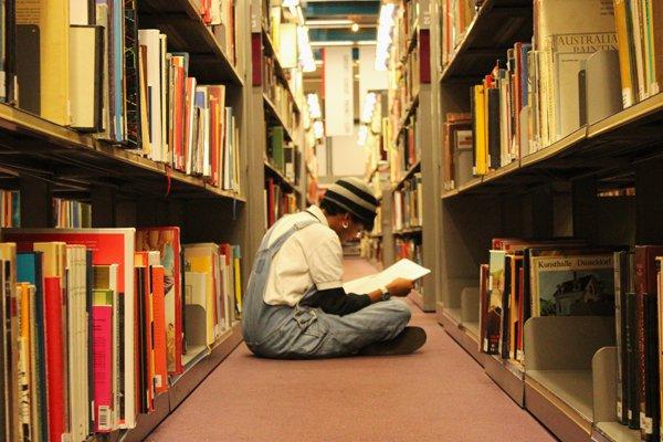 Rayonnages livres en langue étrangères