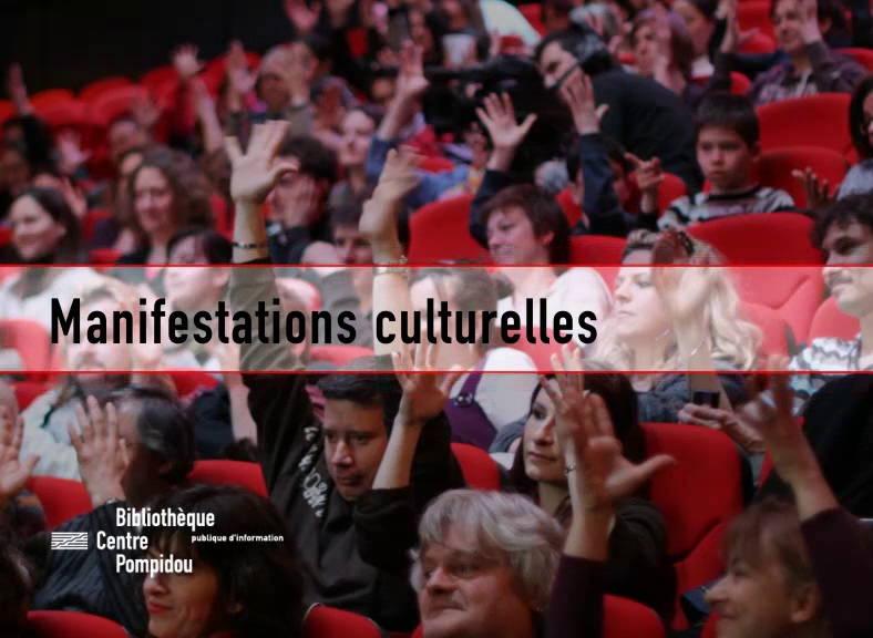 Extrait de la vidéo de la présentation des manifestations culturelles de la Bpi