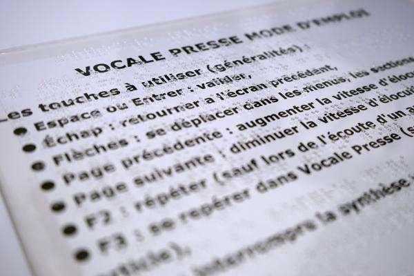 Mode d'emploi Vocale-Presse