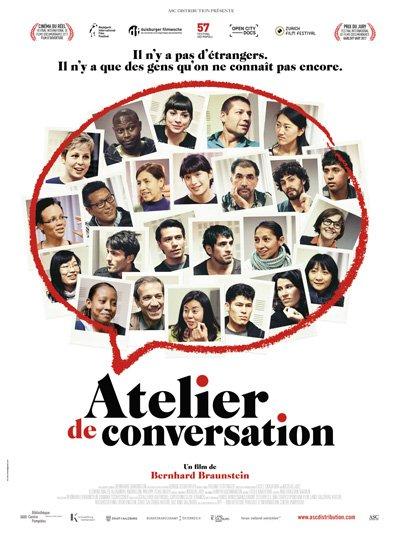 Affiche du film atelier de conversation