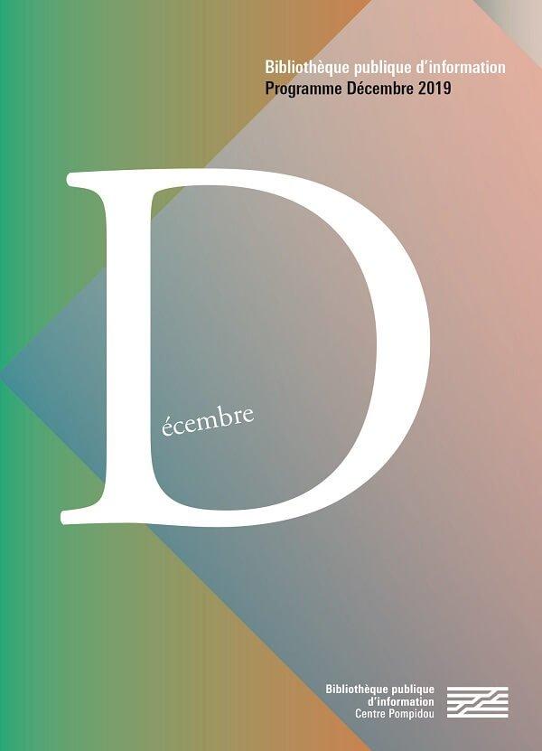 couverture du programme de décembre 2019