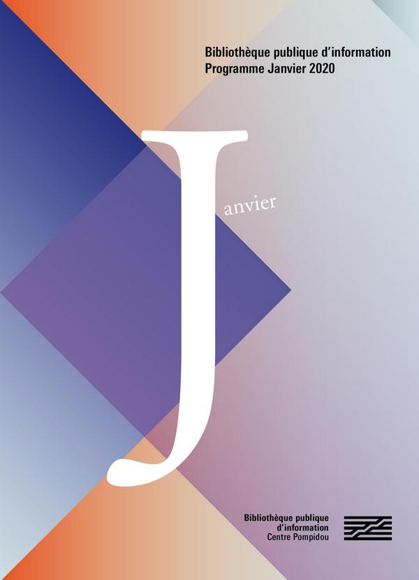 couverture du programme de janvier 2020
