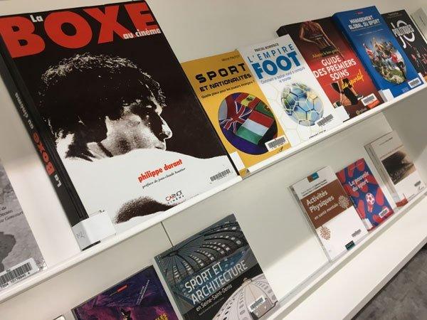 sélection d'ouvrages sur le sport à la Bpi