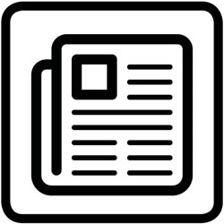 pictogramme de la presse