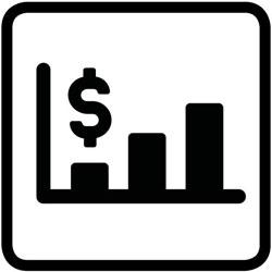 pictogramme de l'économie