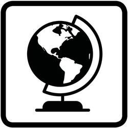 pictogramme de l'histoire géographie