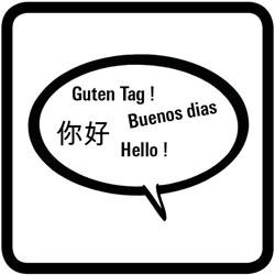 pictogramme des langues