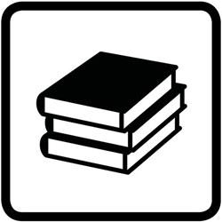 pictogramme de la littérature