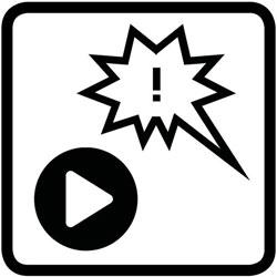 pictogramme des loisirs, bande dessinée et musique