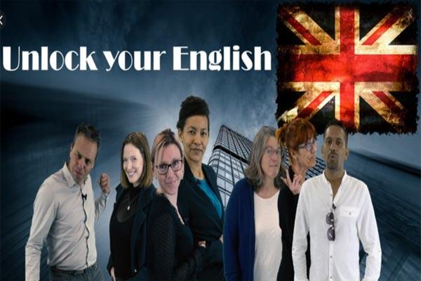 illustration du mooc unlock your english