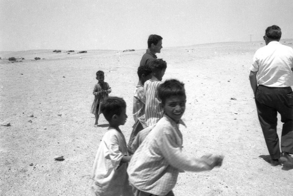 Angelo Novi, Pier Paolo Pasolini, Sopralluoghi in Palestina, 1963, Cineteca di Bologna_Fondo Angelo Novi