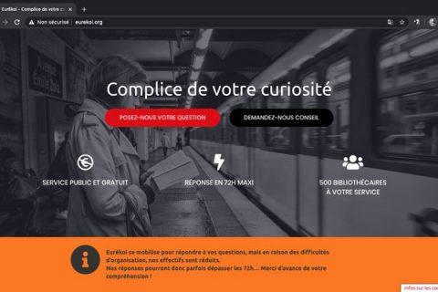 Page d'accueil du site eurekoi