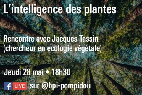 Conférence sur l'intelligence des plantes en ligne sur Facebook