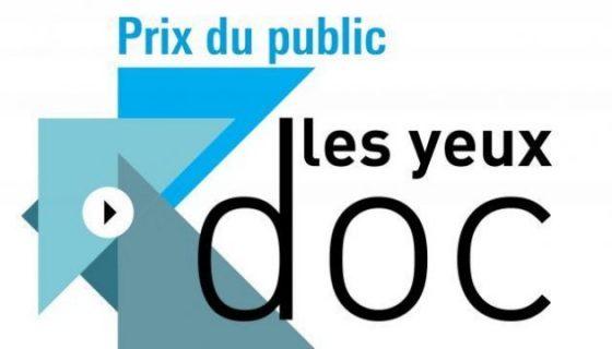 logo du Prix du public Les yeux doc