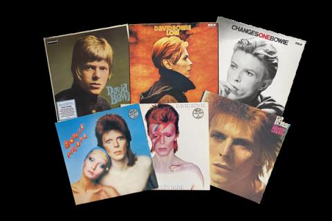 pochettes d'albums de David Bowie