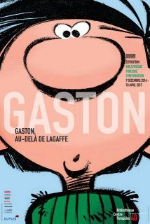 Affiche de l'exposition Gaston Lagaffe