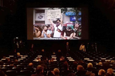 Photo prise en salle de cinéma