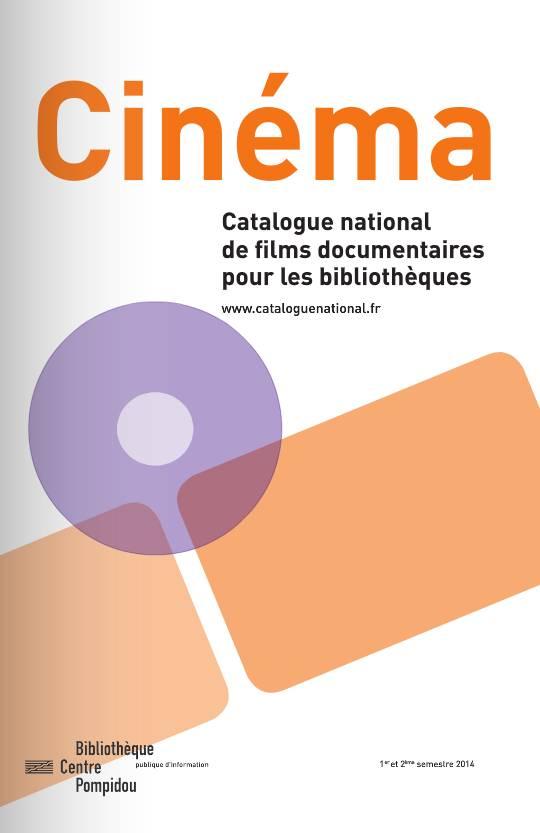 Photo de la brochure du Catalogue national 2014.