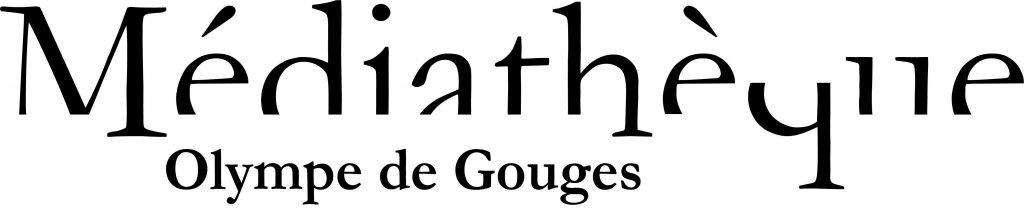 Logo de la médiathèque Olympe de Gouges
