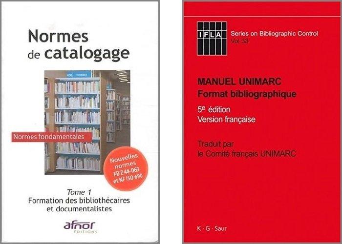 Normes AFNOR et manuel UNIMARC