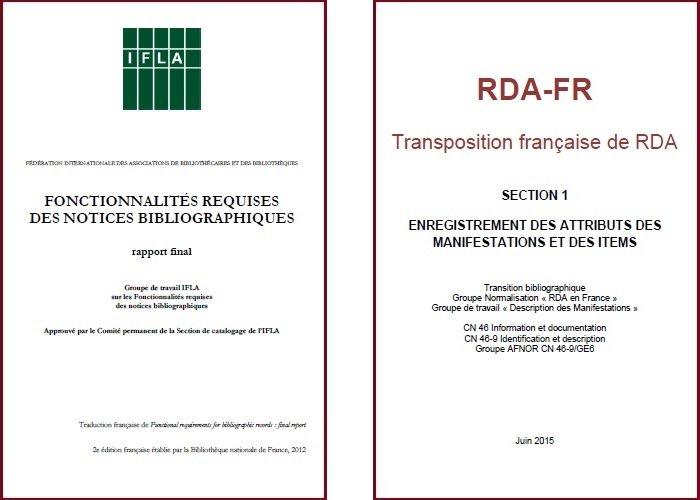 FRBR et RDA