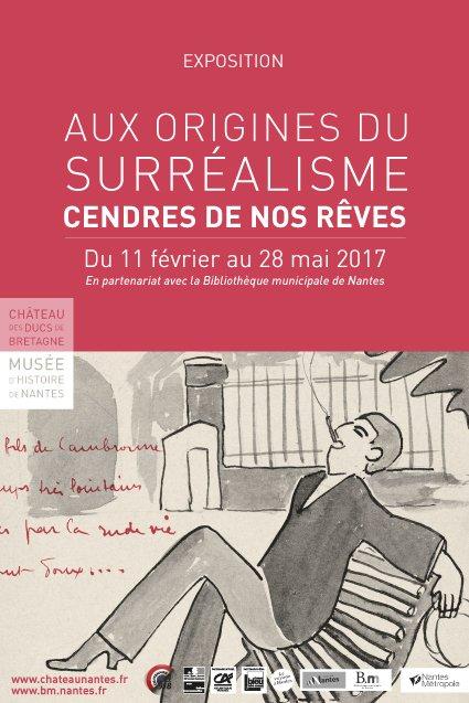 Affiche de l'exposition en partenariat avec le Château des ducs de Bretagne et le musée d'histoire de Nantes
