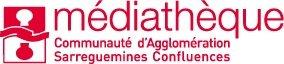 Logo de la médiathèque de Sarreguemines