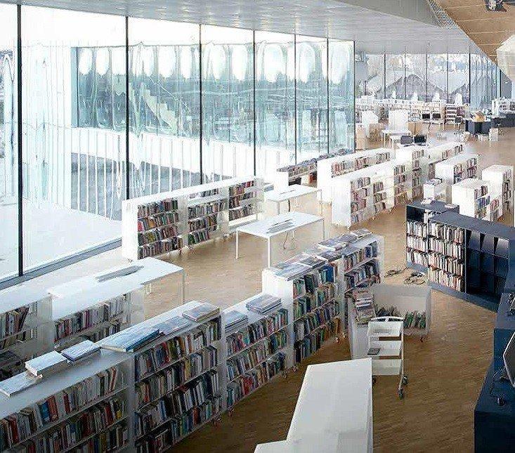 Espaces de lecture (photo Julien Lanoo)