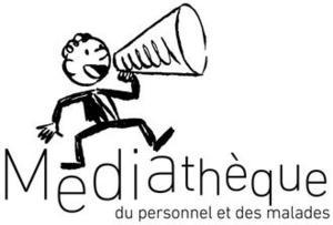 Logo de la Médiathèque de l'hôpital Raymond Poincaré