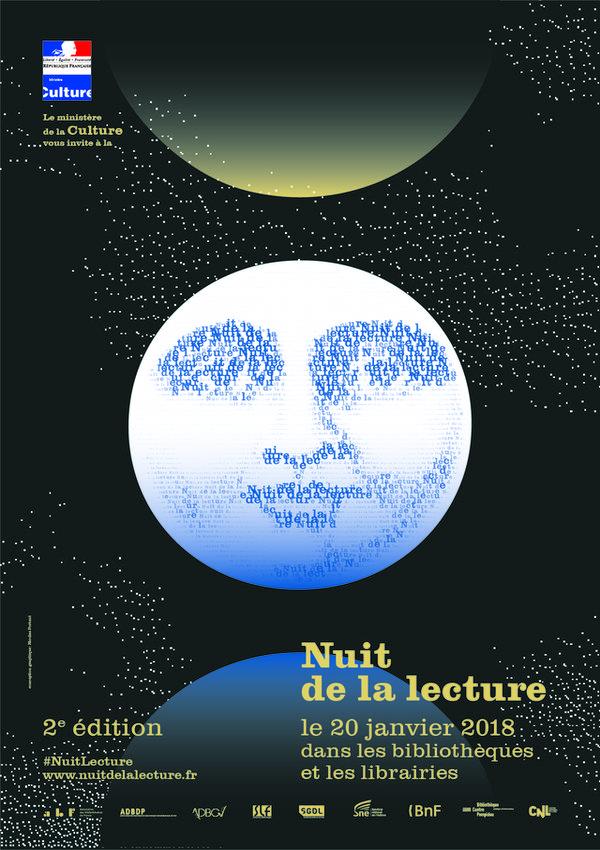 Affiche de la Nuit de la lecture