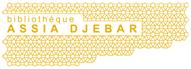 Logo de la bibliothèque Assia Djebar