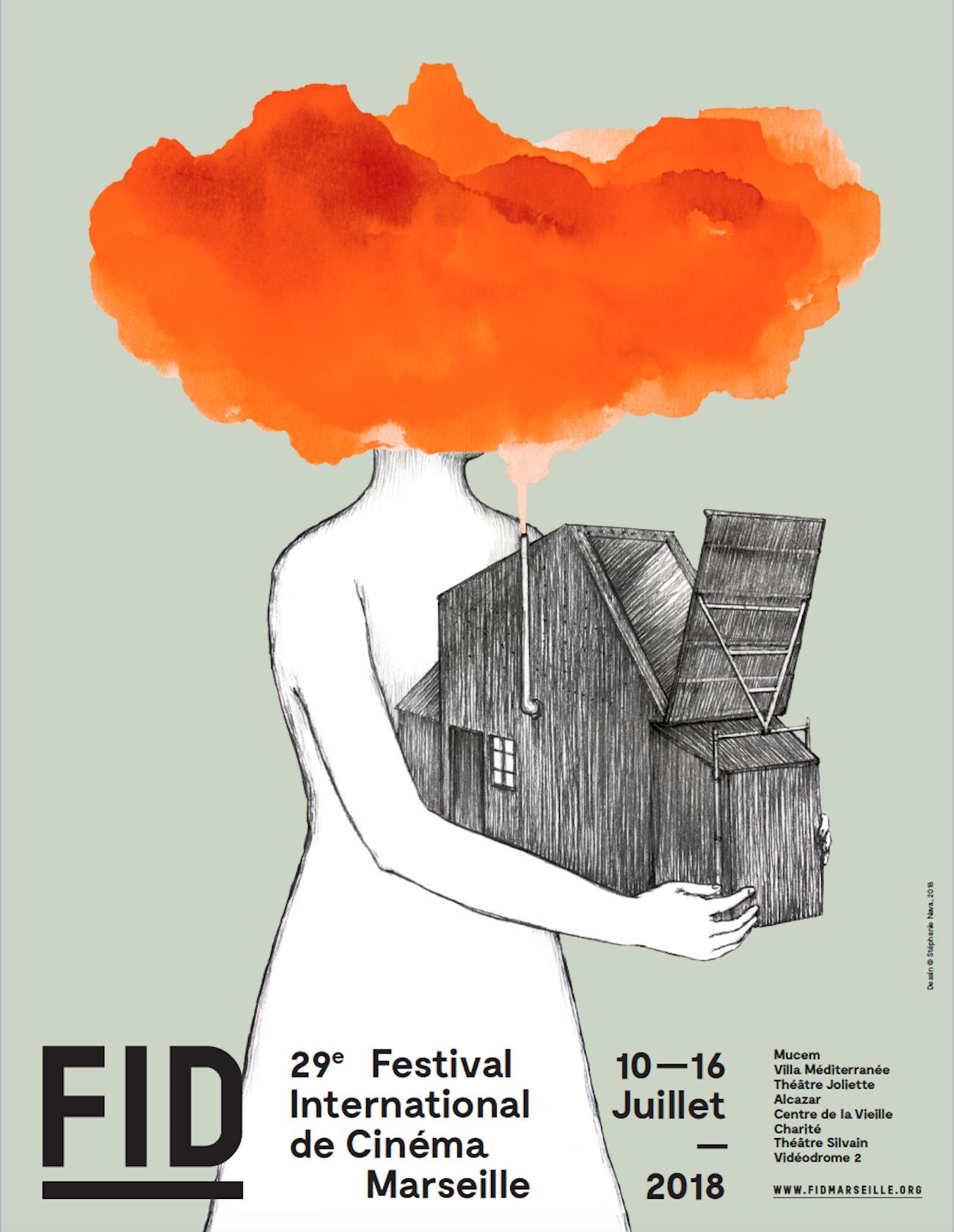 Affiche du FIDMarseille 2018