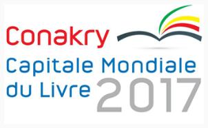 Logo de la ville de Conakry, capitale mondiale du livre