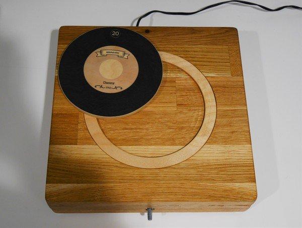 photographie d'un mange disque