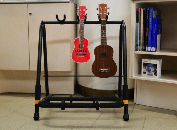 phtographie d'instruments en prêt