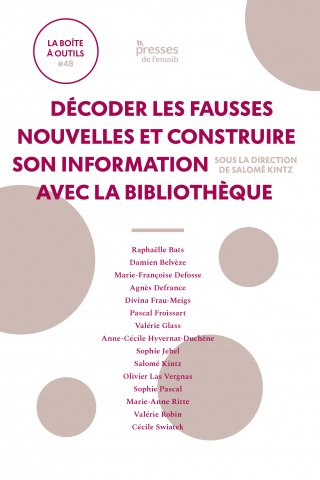 couverture du livre paru à l'ENSSIB