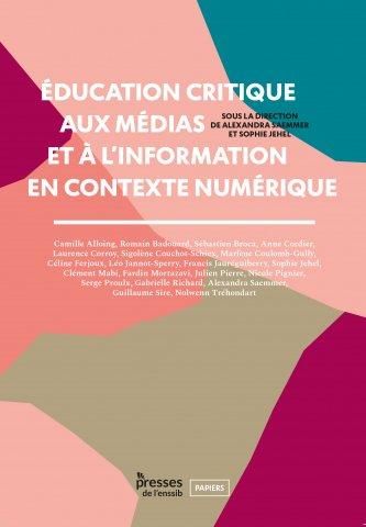Couverture du livre éducation critique aux médias