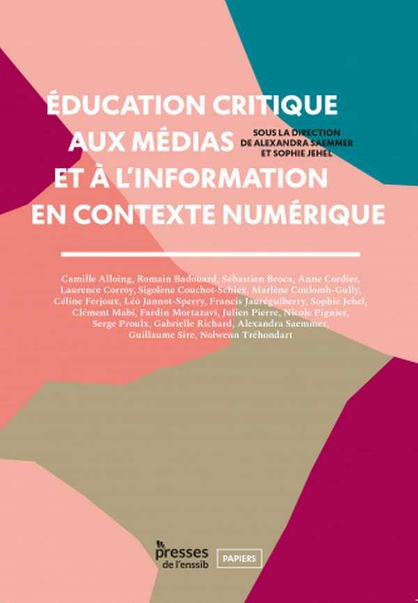 Couverture du livre Education Critique, Enssib