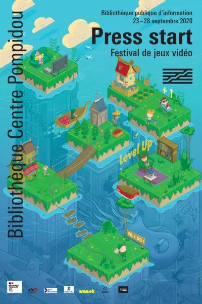 Image d'une jeu vidéo : îles reliées