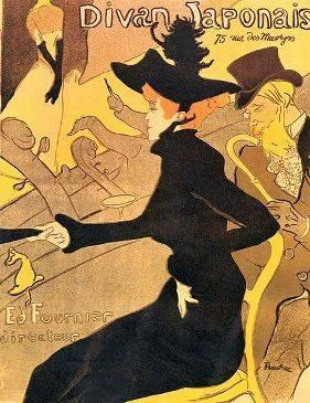 Le Divan japonais de Toulouse-Lautrec