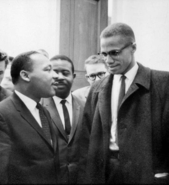 Rencontre de Martin Luther King et Malcolm X, 1964