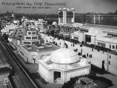 Esplanade des Invalides - Exposition 1925