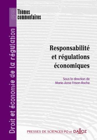 couverture de Responsabilité et régulation économique