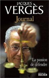 Couverture du Journal, de Jacques Vergès