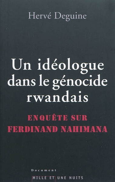 Un idéologue dans le génocide rwandais
