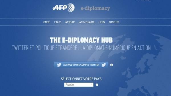 The e-diplomacy hub