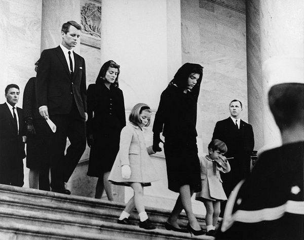 Funérailles de JFK au Capitole, novembre 1963