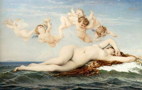 La naissance de Venus, Cabanel, 1863