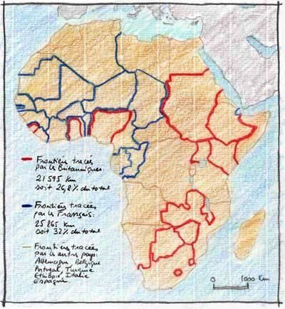 Découpage de l'Afrique